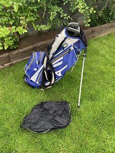 Mizuno Tour Series Stand Carry Bag Blue/White