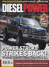 Diesel Power truck magazine Power Stroke Duramax Suburban Head Stud install