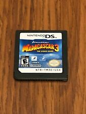 Madagascar 3: The Video Game (Nintendo DS, 2012) Cart Only!