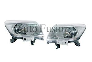 Headlights Pair For Nissan Navara D23 NP300 (2015-Onwards)