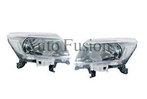 Headlights Pair For Nissan Navara D23 NP300 (2015-Onwards)