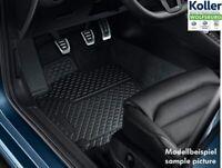 Original VW Touran Allwettermatten 4-tlg. Gummimatten Gummifußmatten schwarz