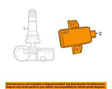 FIAT OEM 14-15 500L TPMS Tire Pressuring Monitoring-Control Module 68201504AA