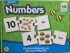 The Learning Journey Match It! Numbers Learning Puzzle Set ages 3+ complete