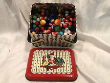 Collectible Vintage Lot 275 Different Marbles Shooters, Cat Eyes, Stickers Etc..