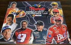 Matt Kenseth 2000 RAYBESTOS ROOKIE OF THE YEAR CONTENDERS w/JR autographed photo