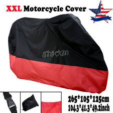 Motorcycle Cover XXL Waterproof Outdoor Bike Rain Dust UV Protector Extra Large