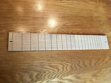 "Slotted Persimmon Fingerboard 25.4/"" and bridge set"