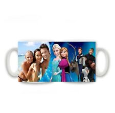 Personalised Photo Disney Frozen Anna and Elsa & Cast Mug Size 11oz special gift