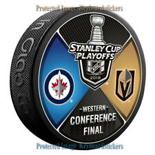 Vegas Golden Knights Western Conference Final 2018 Stanley Cup Playoffs Puck NEW