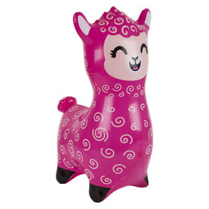 """24"""" Hot Pink Alpaca - Llama Inflatable - Inflate Blow Up Toy Party Decoration"""
