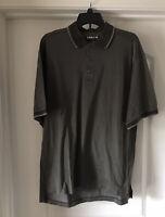 EUC Kirkland Signature Polo Golf Shirt  Brown Check XL