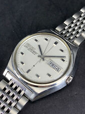 Vintage  SEIKO LM LORD MATIC 25JEWELS  5606-7010 Self Winding Wrist Watch Japan
