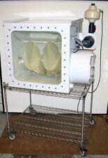 CHARLES RIVER LAB SEMI-RIGID ISOLATOR GLOVE BOX 3' MOUSE & RAT ANIMAL CAGE