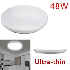 Modern Round LED Ceiling Light Living Dining Room 48W Lamp Warm Cold White UP