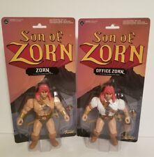 "2016 Funko - SON of ZORN & Office Zorn HE-MAN MOTU Style 5.5"" Action Figures"