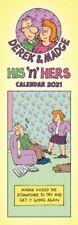 His n Hers, Derek & Madge Slim Planner Calendar 2021 9781529806120 | Brand N