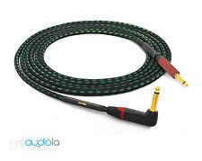 Evidence Audio Lyric HG Instrument Cable Neutrik Gold 90º TS to Silent TS 10 Ft