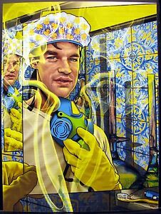 Nicholas Nick Sand Blotter Art Rosenfeld Rafti