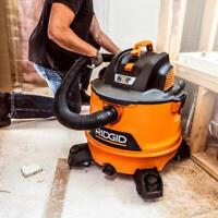 Ridgid Shop Wet Dry Vacuum Vac 14 Gal. 6.0 Peak HP NXT Large Accessories Gallon