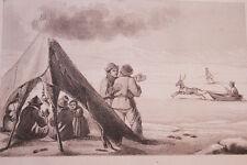 RUSSIE LAPONS  GRAVURE SUR ACIER 1838 РОССИЯ PRINT