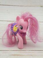 "2010 Hasbro My Little Pony Canterlot Shine Bright Pinkie Pie G4 3"" Lights up"