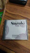 Suzuki Viola School Volume 5 Cd Performed by William Preucil brand new unopened