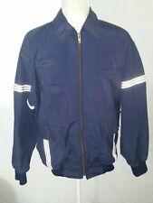 Vintage Unitog Men's United Airlines Jacket Size 40 Navy / Gray Reflective USA