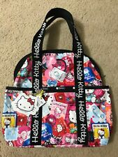 Lesportsac Sanrio Hello Kitty Double Trouble Tote Backpack