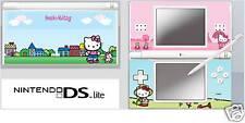 Nintendo DS or DS Lite HELLO KITTY Skin / Sticker