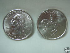 US State Quarter Delaware Circulated P Mint