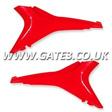 HONDA CRF450R CRF 450 R 2009-2012 RED UPPER SIDE PANELS NUMBER BOARDS PLASTICS