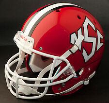 NORTH CAROLINA STATE WOLFPACK 1999 Schutt XP GAMEDAY Football Helmet NC STATE