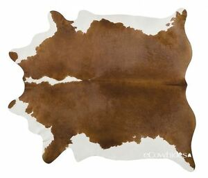 Hereford Brazilian Cowhide Rug Cow Hide Area Rugs Leather Size XXL