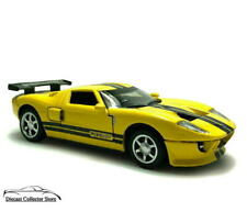 2006 Ford Gt-1 Kinsmart Diecast 1:36 Scale Yellow Free Shipping