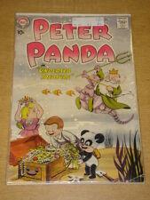 PETER PANDA #31 VG (4.0) FINAL ISSUE DC COMICS SEPTEMBER 1958 **