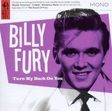BILLY FURY Mein Rücken On You 2011 23-track Kompilation CD NEU / VERPACKT
