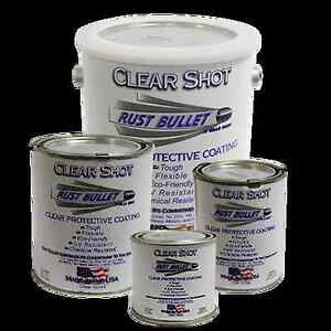 Rust Bullet Clear Shot Coating, Protection & Corrosion Control 0.47 Liter.