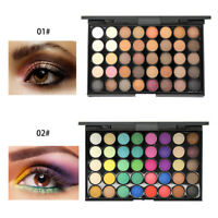 40 Color Cosmetic Matte Eyeshadow Cream Eye Shadow Makeup Palette Shimmer Set CY