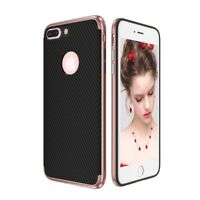 Hybrid Silicone Phone Case for Apple IPHONE 7 Case Cover Pouch Bumper Case Pink