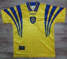 Sweden Soccer Jersey Football Shirt adidas 100% Original Men's M 1996/1997 Home