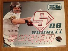 Lot of 105 Washington Huskies football cards + Mark Brunell jersey card