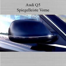AUDI Q5 Typ 8R - 3M Chrom Zierleisten Chromleisten Außenspiegel Spiegel VORNE