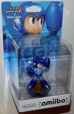 Mega Man Amiibo Figure USA Version - New & Bubble Wrapped - Smash Bros. Wii U