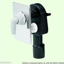 Dallmer Unterputz Siphon HL 400 130402 Waschgerätesiphon Sifon Geruchsverschluss