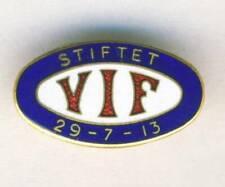 VALERENGA IF Football Club Brooch PIN Badge Oslo Norway Soccer VIF Norge