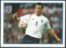 MERLIN-ENGLAND 2006 WORLD CUP- #078-ENGLAND & CHELSEA-JOHN TERRY ON THE BALL