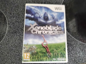 Xenoblade Chronicles (Wii, 2012) COMPLETE