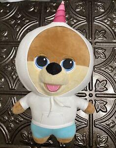 "Jiffpom Cutelife plush Unicorn Hoodie BIG HEAD Teddy Bear ? Dog? 10"" - Soft!"