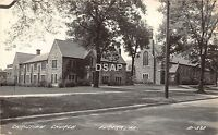 A83/ Eureka Illinois Il Real Photo RPPC Postcard c1930s Christian Church